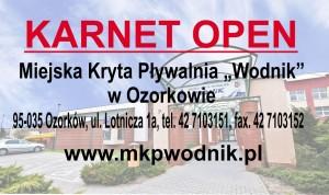 Wodnik karnet open